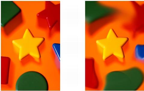 Photo Paint ret smearimage Sbavatura, sfumatura e fusione di colori