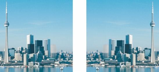 Photo Paint size flipped Rotazione e riflessione di immagini