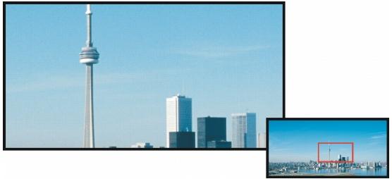 Photo Paint view nav Visualizzazione di immagini