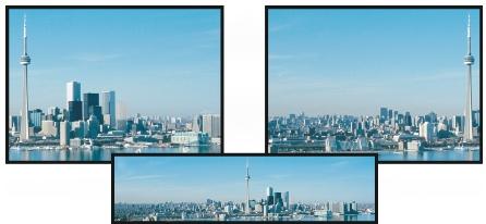 Photo Paint view pan Visualizzazione di immagini