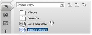 Pinnacle Studio image002 Otevření souboru s nahraným videem