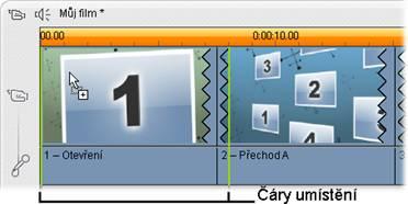 Pinnacle Studio image001 Vytváření tématických klipů