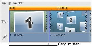 Pinnacle Studio image002 Vytváření tématických klipů