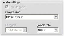 Pinnacle Studio image003 Indstillinger for importformat