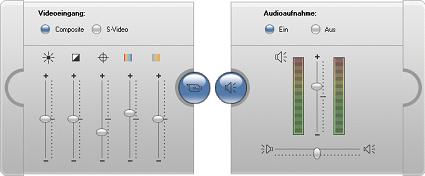 Pinnacle Studio image001 Audio  und Videopegel   analog