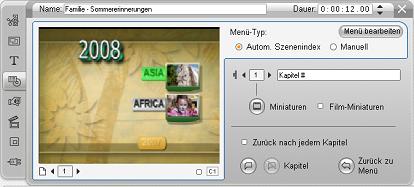 Pinnacle Studio image002 Bearbeiten mit dem Tool für Clip Eigenschaften