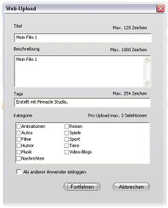 Pinnacle Studio image002 Ausgabe für das Web