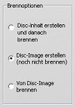 Pinnacle Studio image002 Disc erstellen   Einstellungen