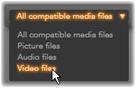 Pinnacle Studio image010 Import from file based media