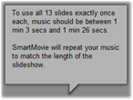 Pinnacle Studio image004 The SmartMovie music video tool