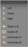 Pinnacle Studio image002 Text styling controls