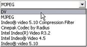 Pinnacle Studio image002 Make File settings