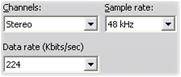 Pinnacle Studio image006 Make File settings