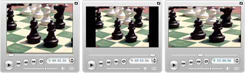 Pinnacle Studio 060 aspect ratio examples Opening a video file