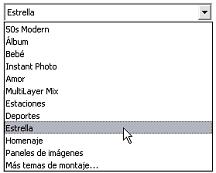 Pinnacle Studio image002 La sección de temas de montaje (Montage®)