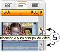 Pinnacle Studio image010 Vista de línea de tiempo