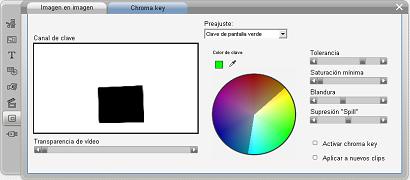 Pinnacle Studio image003 Herramienta Chroma key