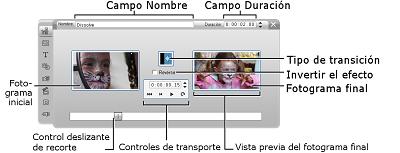 Pinnacle Studio image003 Recorte con la herramienta Propiedades del clip