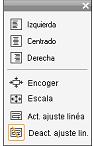 Pinnacle Studio image002 Controles de aplicación de estilo en el texto