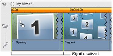 Pinnacle Studio image001 Teemaleikkeiden luominen