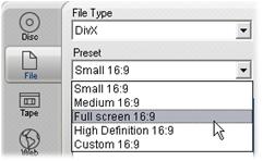Pinnacle Studio image006 Tulostus tiedostoon