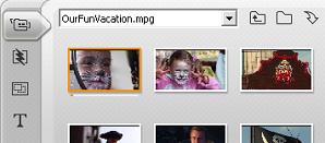 Pinnacle Studio image005 Ouverture d'un fichier vidéo acquis