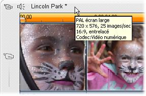 Pinnacle Studio image002 Format vidéo du projet