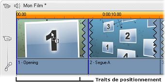 Pinnacle Studio image002 Création de clips thématiques