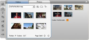 Pinnacle Studio image001 Utilisation de l'outil Éditeur thématique
