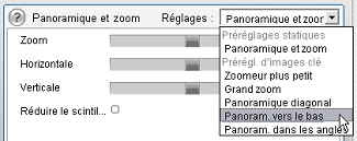 Pinnacle Studio image003 Changement des paramètres des effets