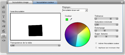 Pinnacle Studio image003 L'outil Incrustation couleur (Chroma Key)