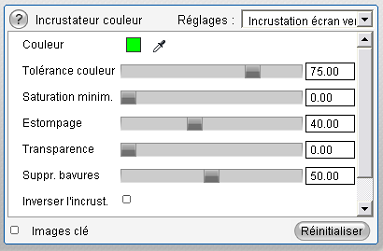 Pinnacle Studio image005 L'outil Incrustation couleur (Chroma Key)