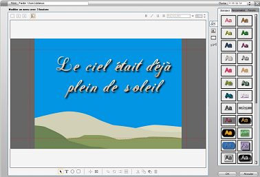 Pinnacle Studio image001 L'Editeur de titres