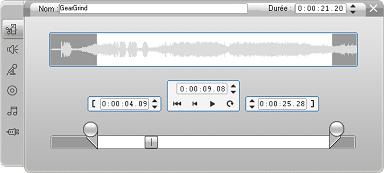 Pinnacle Studio image002 Découpage à l'aide de l'outil Modifier les propriétés du clip