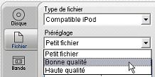 Pinnacle Studio image008 Sortie sur fichier