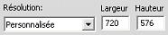 Pinnacle Studio image003 Paramètres de création de fichiers