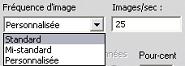 Pinnacle Studio image004 Paramètres de création de fichiers