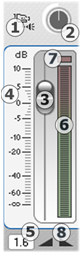 Pinnacle Studio 294 track volume panel L'outil Volume et balance