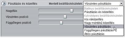 Pinnacle Studio image003 Az effektusok paramétereinek módosítása
