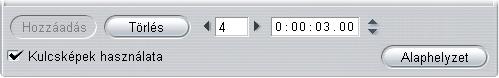 Pinnacle Studio image006 Kulcsképek használata