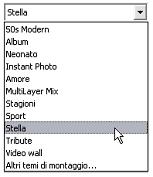 Pinnacle Studio image002 La sezione Temi di montaggio (Montage®)