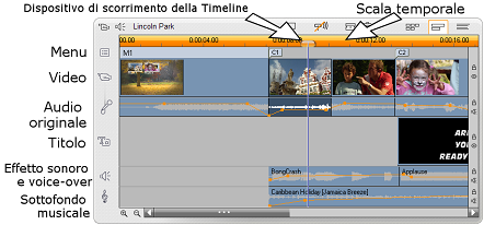 Pinnacle Studio image009 Vista Timeline