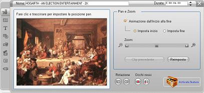 Pinnacle Studio image002 Editing delle proprietà di clip immagini