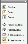 Pinnacle Studio image002 I controlli per lo stile del testo