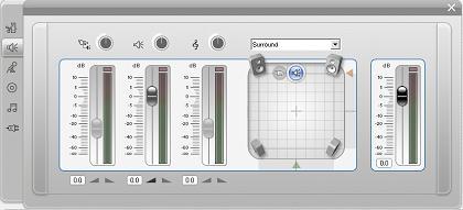 Pinnacle Studio image002 Lo strumento Volume e bilanciamento