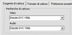 """Pinnacle Studio image002 Lerrore """"Periferica video non trovata"""" compare in modalità di cattura"""