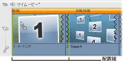 Pinnacle Studio image001 テーマクリップの作成
