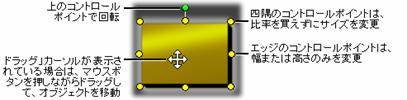 Pinnacle Studio image002 編集モード選択ボタン