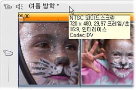 Pinnacle Studio image002 프로젝트 비디오 형식