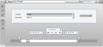 Pinnacle Studio image002 Het gereedschap CD audio